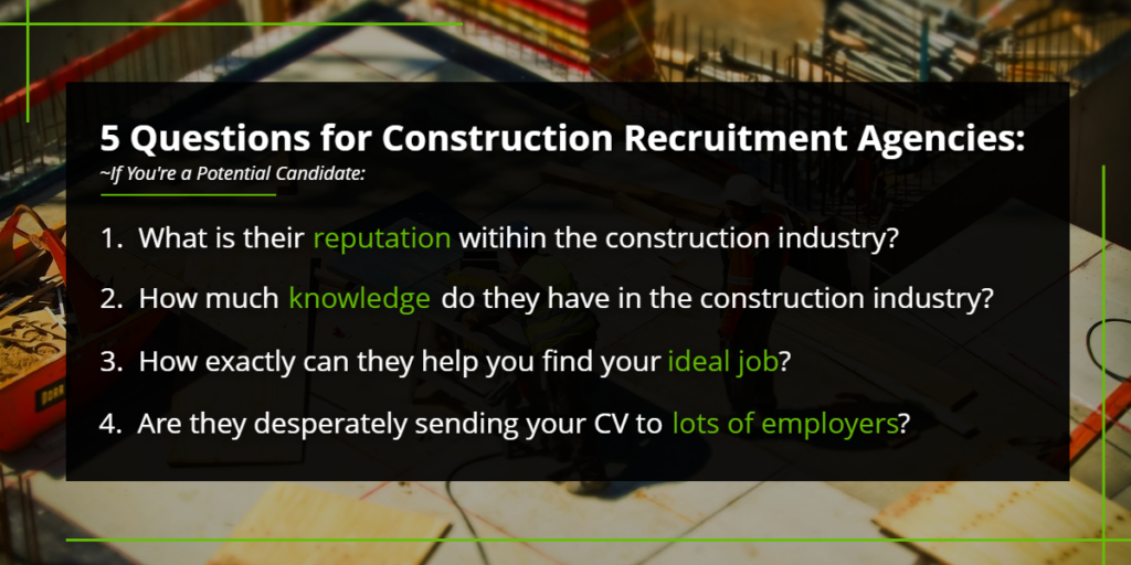 5 questions for construction recruitment agencies | Harbinger Network]