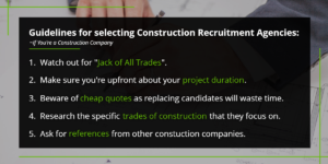 Guidelines for selecting construction recruitment agencies   Harbinger Network]